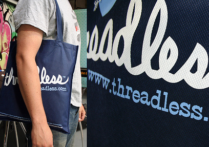 Threadless Bags