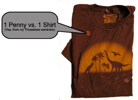 Threadless vs. Penny