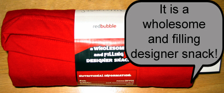 Red Bubble T-Shirt Wrap