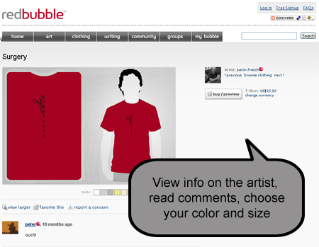 My Red Bubble T-Shirt