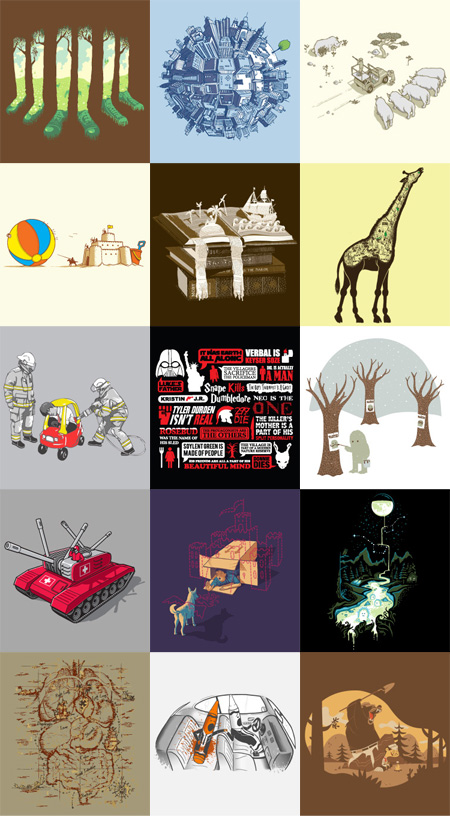 Threadless Bestees