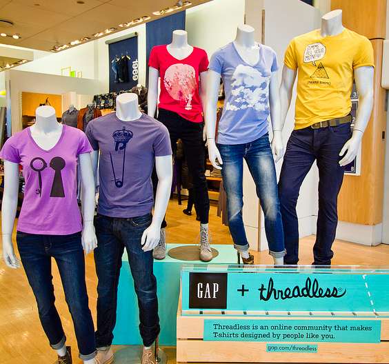 GAP + Threadless